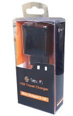 Ładowarka Sieciowa SmartGPS Dual USB 2,1A (LSI01)