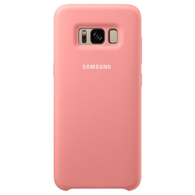 Etui Silicone Cover do Galaxy S8 Różowe (EF-PG950TPEGWW)