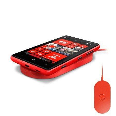 Podstawka do ładowania bezprzewodowego Nokia DT-900 Czerwona