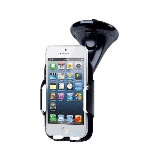Uchwyt Samochodowy SmartGPS US02 do Smartfonów Czarno-Biały